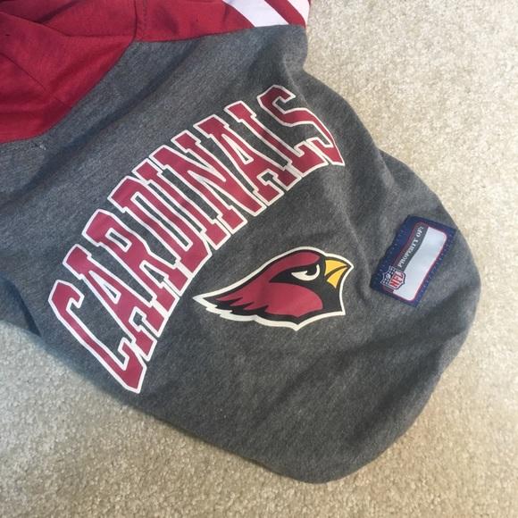 f95cb9762 Cardinals Team Hoodie Pet Jersey sz Med NWTS